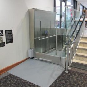 Custom Wheelchair lift, ADF East Fort Belvoir