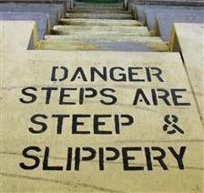 steep-slippery